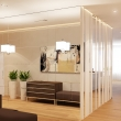Luxury Interior Design with Brown white color